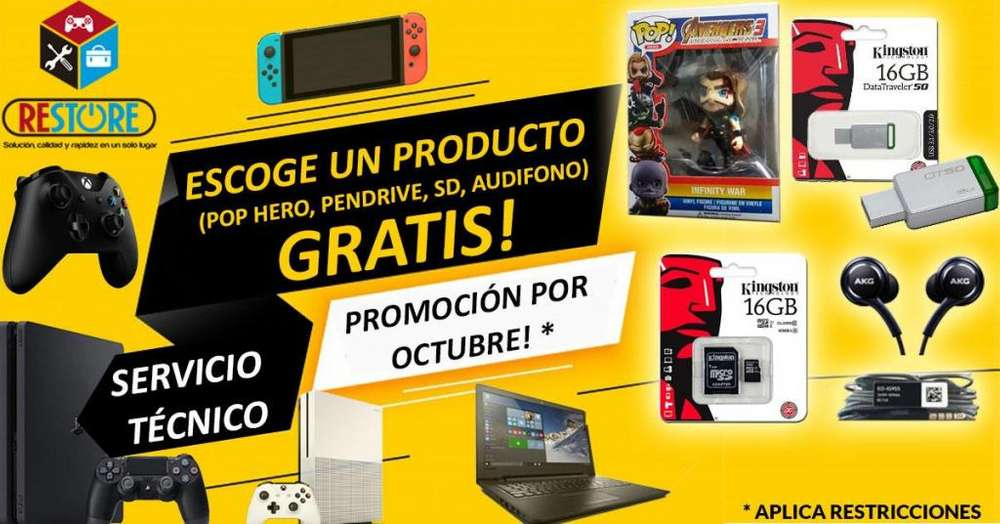 SERVICIO TÉCNICO, MANTENIMIENTO PARA PS3, PS4, XBOX 360, XBOX ONE, WII, NINTENDO SWITCH, ETC