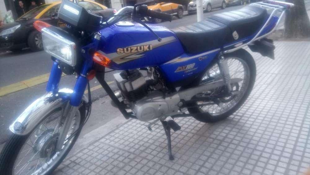 Vendo Moto Suzuki Ax100