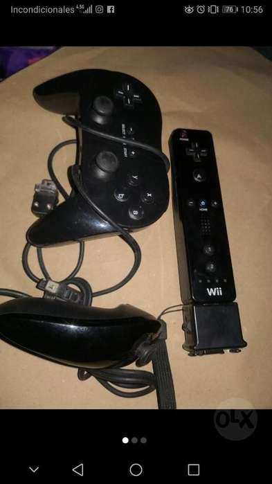 Mando Wii con Control Pro Y Nunchuck