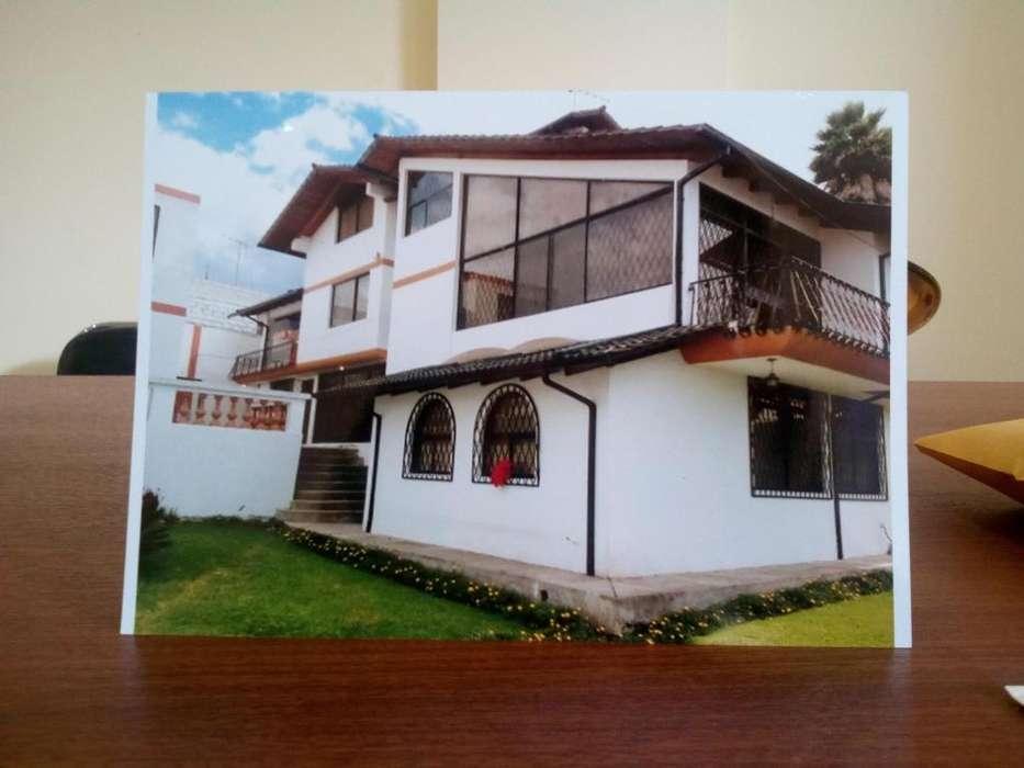Arriendo/Vendo Casa Hotel Amoblada, Sector Reservorio Empresa Electrica, Cumbaya.