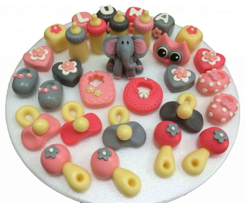 Taller de figuras en mazapan para decorar cupcakes, tortas, mesa de dulces