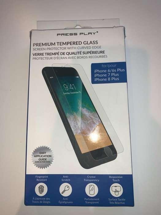 Vidrio Templado para Iphone 6/7/8 Plus