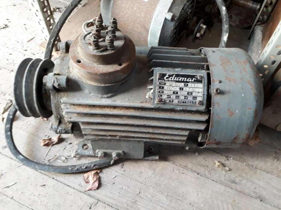 Motor trifásico Edumar 3 cv 1350 rpm