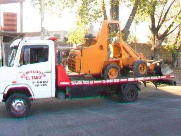 transporte, auxilio, remolque para automotores y traslados de maquinas.