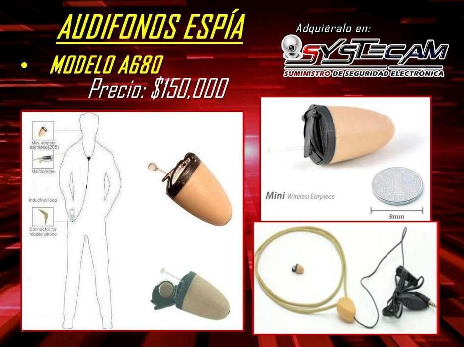 Audifonos Espías A680 para mantener comunicaciones secretas