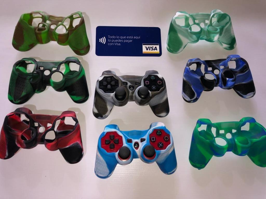 Forros, siliconas para control PlayStation 3