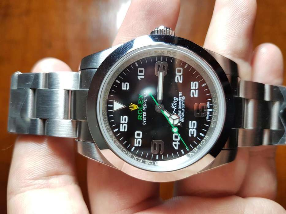 Reloj <strong>rolex</strong> Air King 40 mm Automático Sumergible