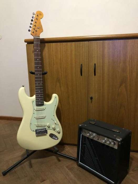 Guitarra Sx Y Amplificador 222 10w,