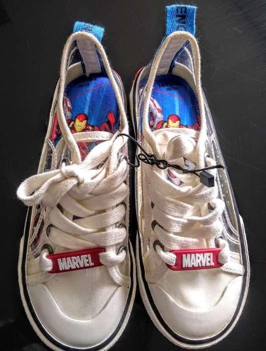 Tennis Converse Super Heroe Marvel