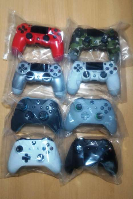 VENDO CONTROLES ORIGINALES PARA PS4, PS3, XBOX 360, XBOX ONE Y PC