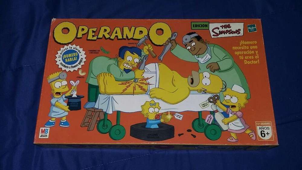 Juego Operando a Homero