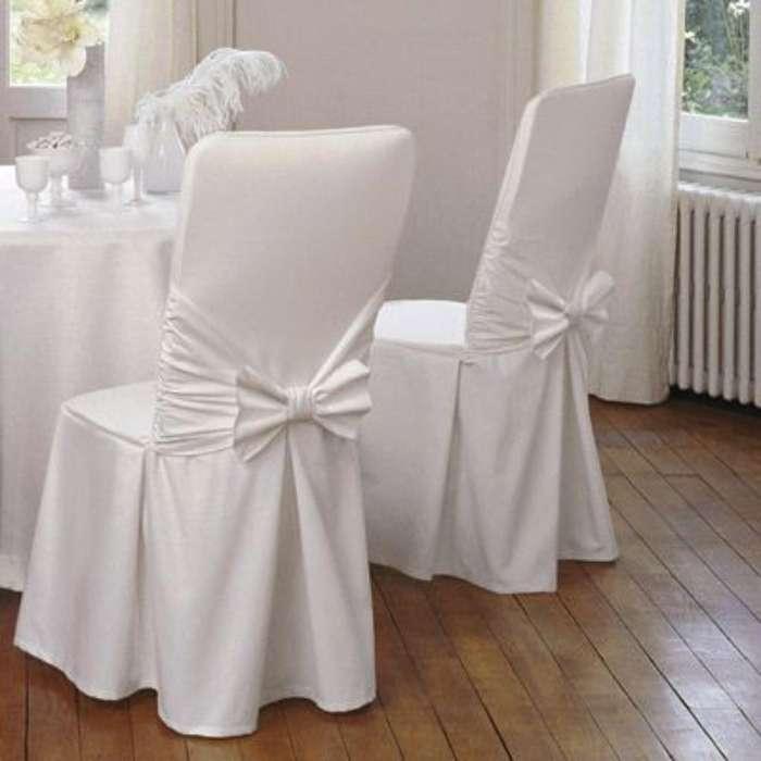 Alquiler de Forros de Sillas Blancos