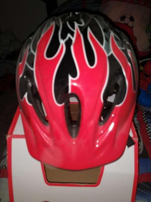 Casco Protector para Niños Bici Roller