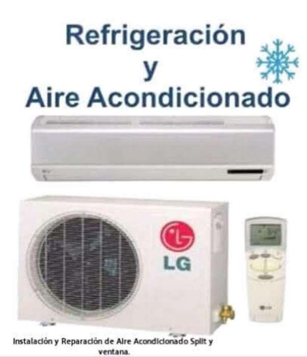 Servicios de Aires A. Split. Rec.tarj.y