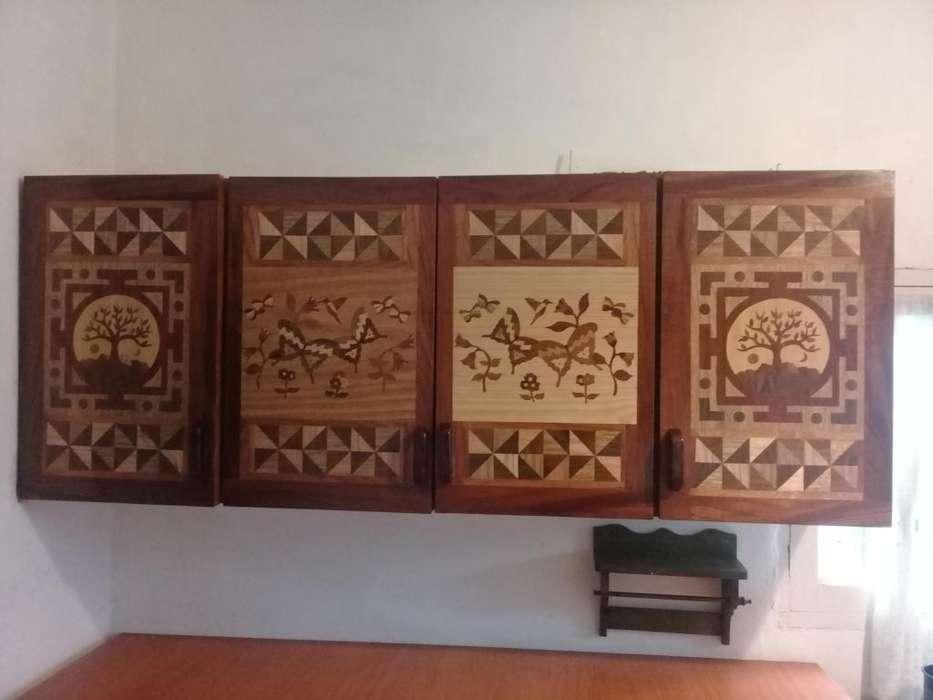 Reparación y reciclado de muebles con marquetería