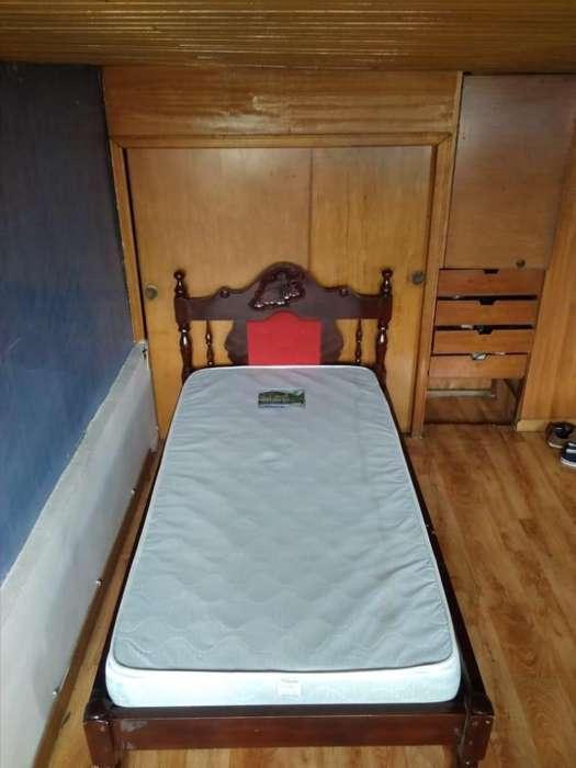 <strong>cama</strong> de segunda 1,10 m ancho, 1.90 m largo mas colchón 200.000
