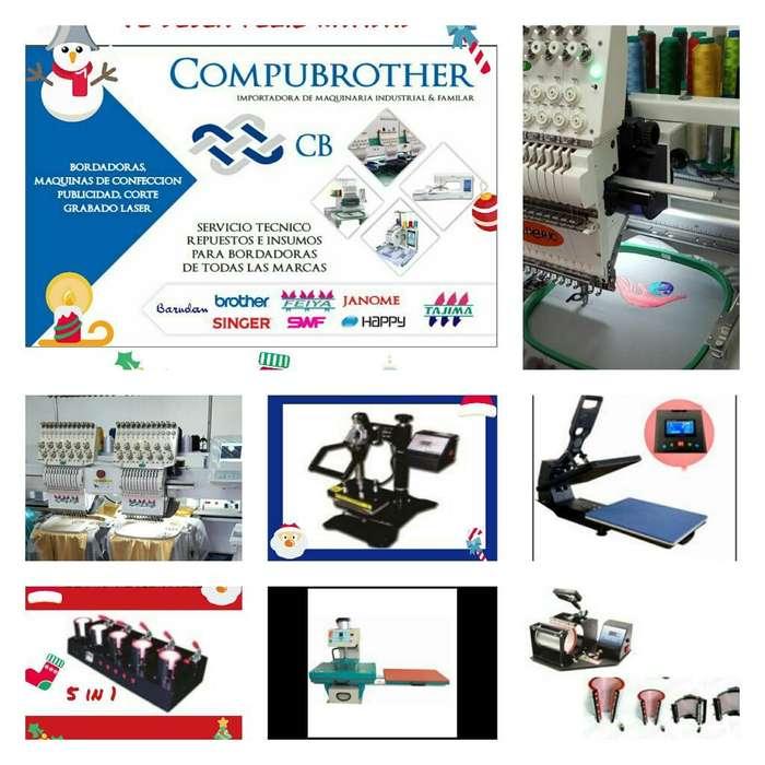 Bordadoras Venta/compra/servicio Tecnico