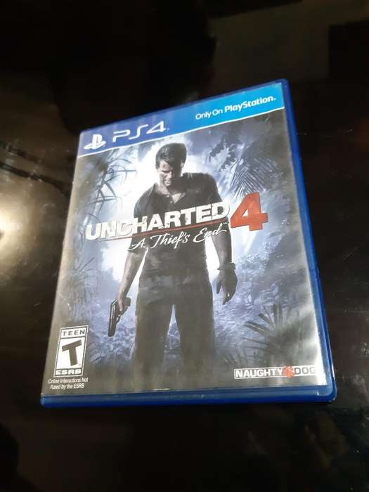 de Oportunidad Vendo Uncharted 4 Ps4