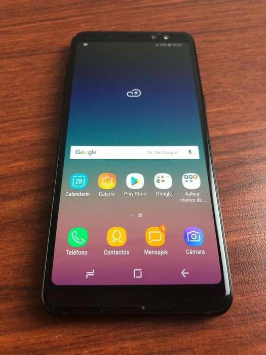 VENDO Samsung A8 2018 LIBRE IMPECABLE