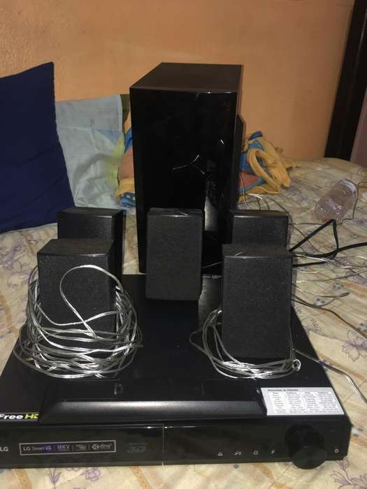 Vendo Home Teather Lg