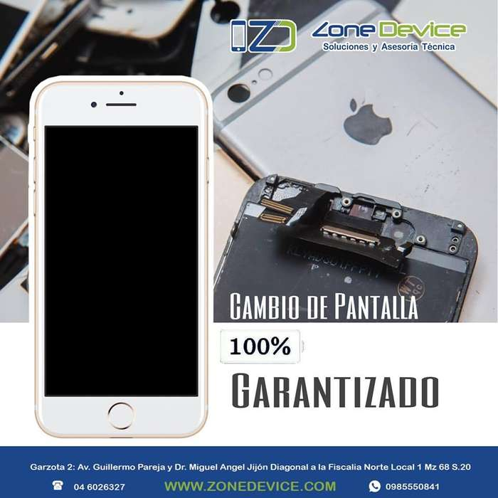 Cambio de Pantalla Display Iphone 6 6 plus 6s 6splus 7 7Plus Desde 30