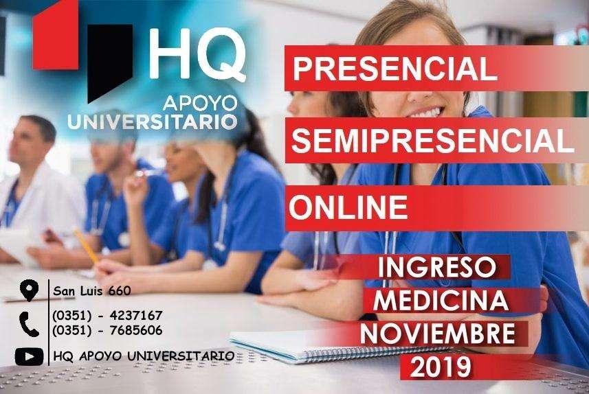 INGRESO A MEDICINA UNC TURNO NOVIEMBRE 2019