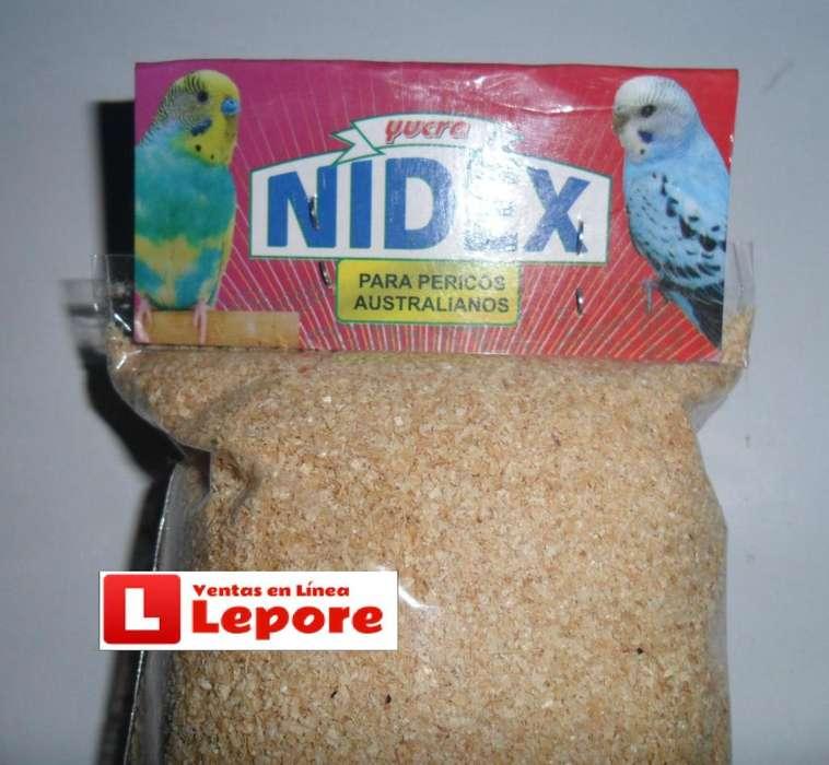 Sustrato De Nido Para Canario Pericos Agapornis X1und.