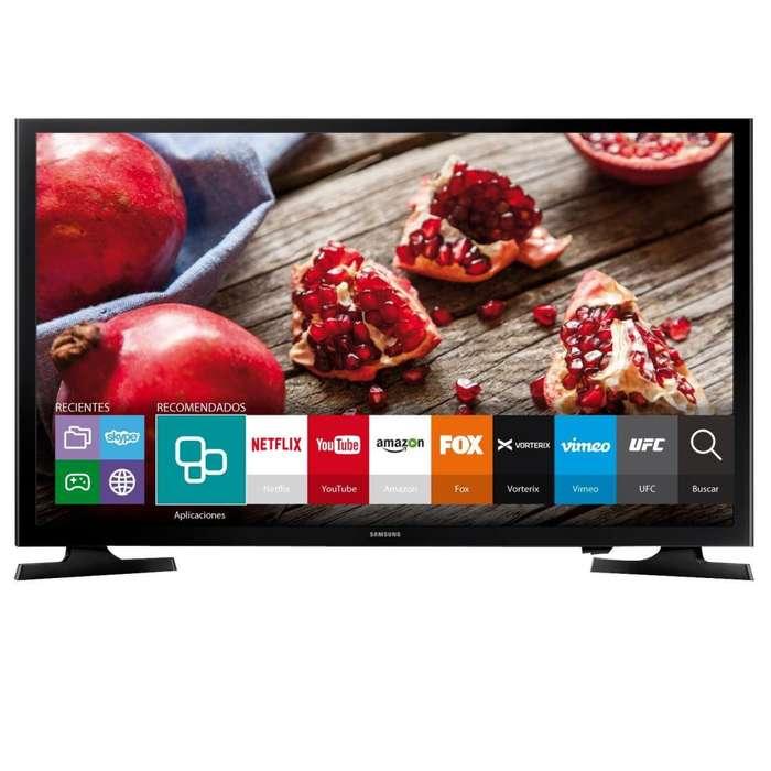 Smart tv Samsung UN40J5200 Full HD Nuevo Gtía Oficial.
