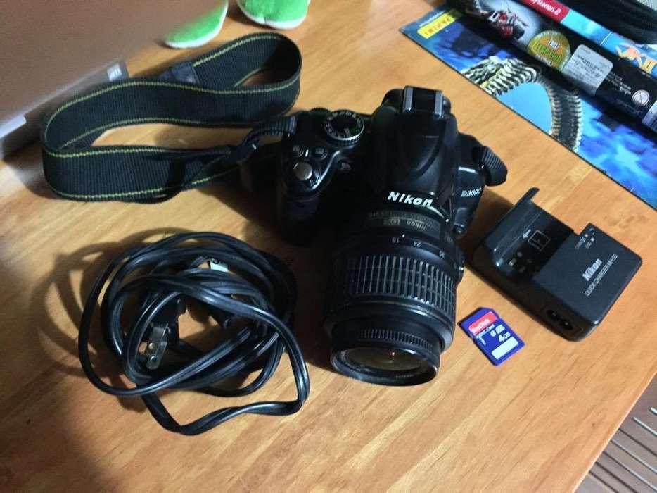 Nikon D3000 Semi Profesional
