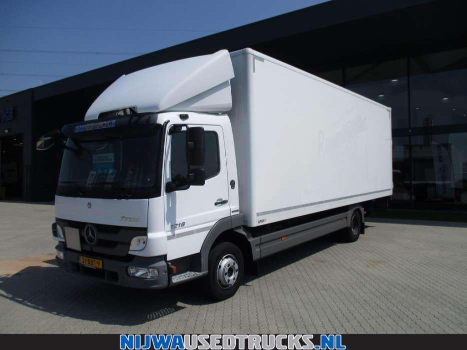 Mercedes-Benz ATEGO 1218 L 4X2 - To be Imported