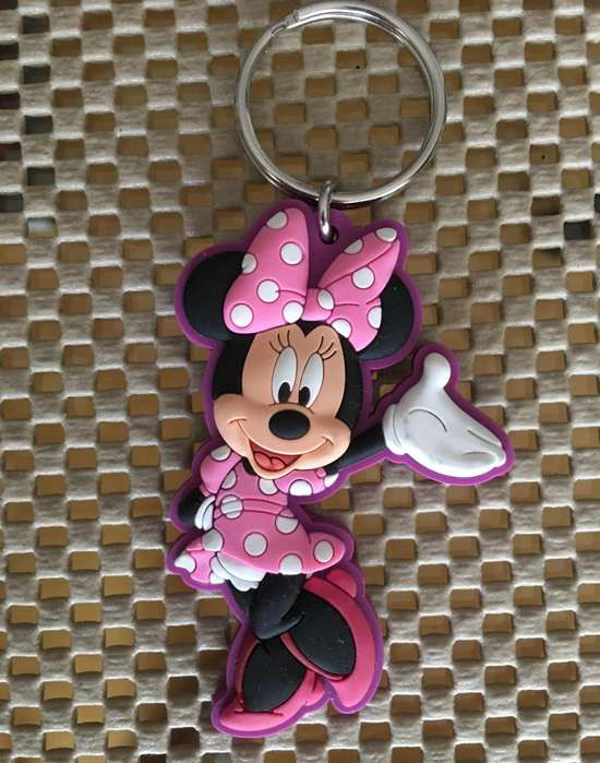 Llavero DISNEY Minnie Mouse en Goma importado de USA