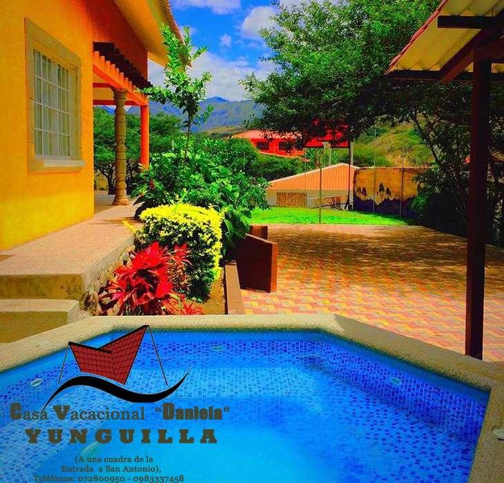 Rento <strong>casa</strong> Vacacional en Yunguilla para fin de semana.
