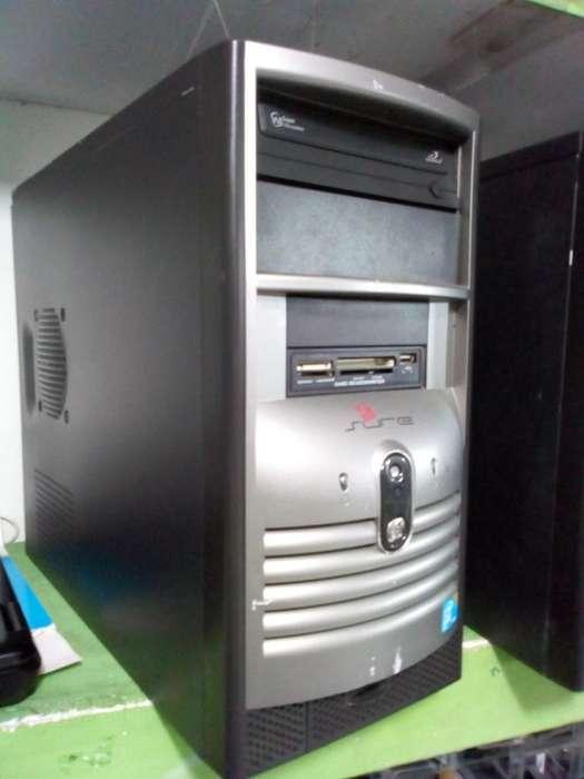Cpu Hp Core 2 Duo Ram 4 Gb Disco 500