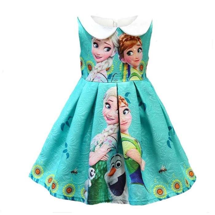 Vestido para Niñas de Frozen