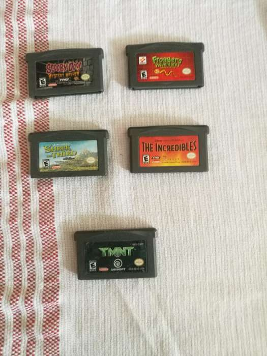 Vendo Juegos Gameboy Y Gameboy Advance
