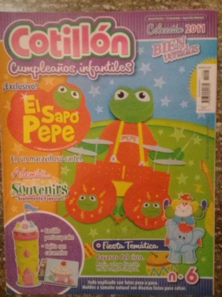 Cotillón Cumpleaños Infantiles N6 2011