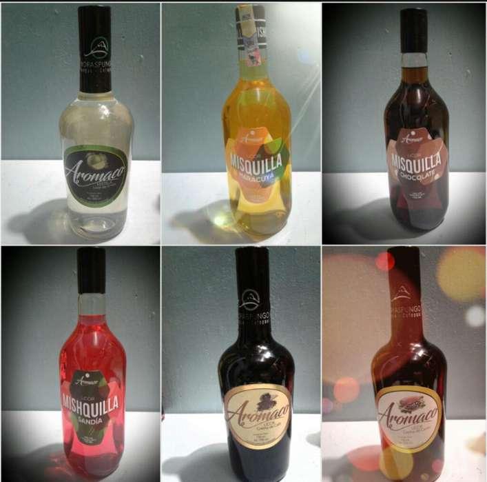 Licores Naturales (empresa Aromaco)