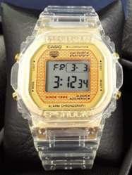 Reloj Casio G Shock, Unisex Trasparente.