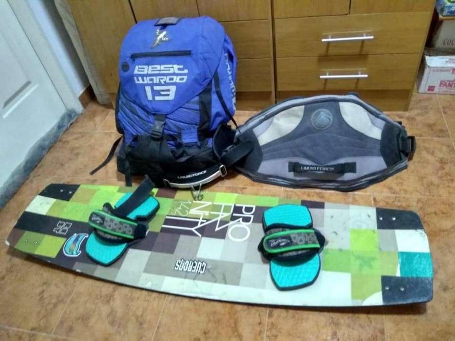 Equipo completo de Kite Surf traje nuevo de neopreno