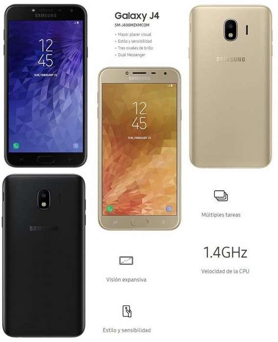 Samsung J4 Nuevos