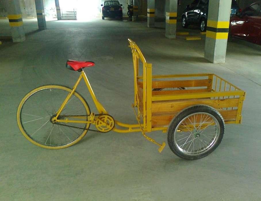 Triciclo para ventas ambulantes