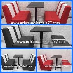 Fabricamos y comercializamos puff sillas mesas para bar discoteca restaurante frutería heladería kpol