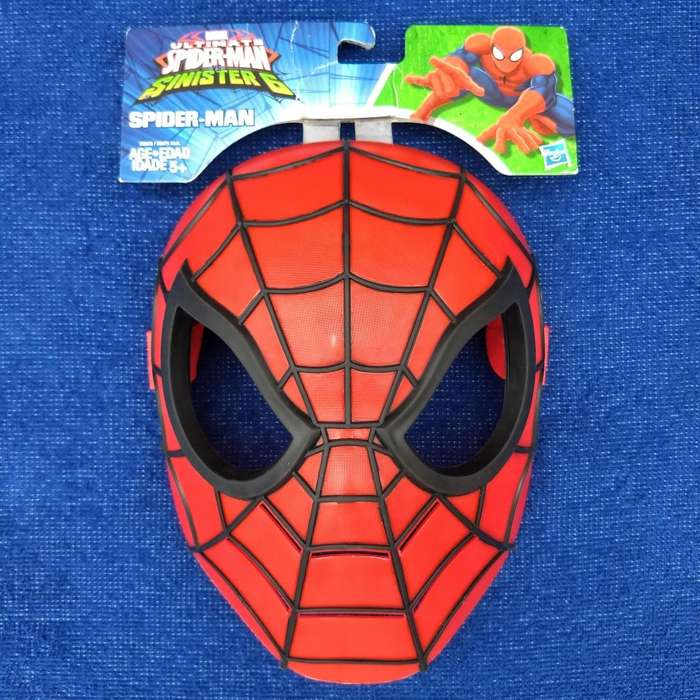 Marvel Spiderman Vs Sinister 6 Mscara Hroe Hasbro Original