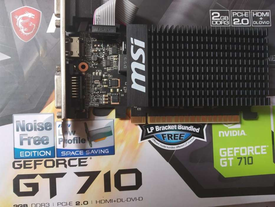 Tarjeta Grafica Ge Force 710 Usada