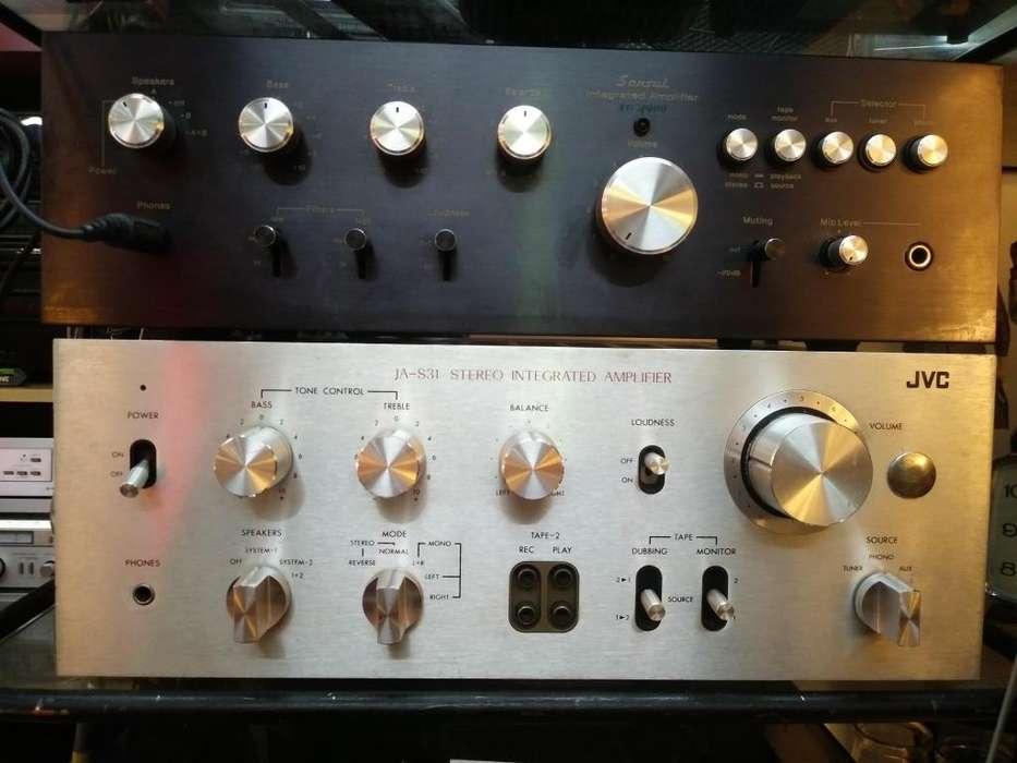 Amplificador JVC JAS31 JaponesInmaculado!