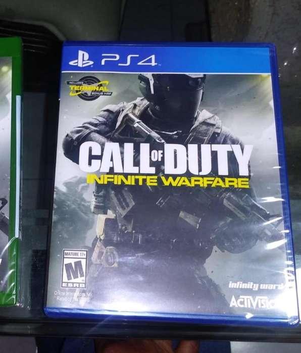 NUEVO ps4 Call Of Duty Inifinite War