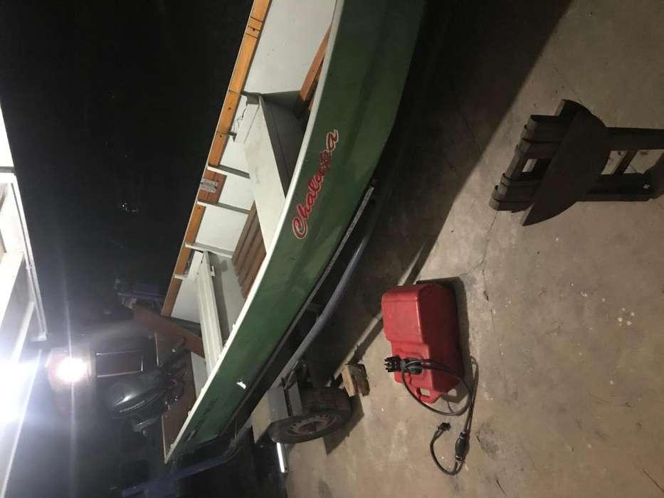 Vendo bote de aluminio