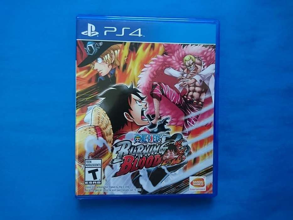 One Piece Burning Blood de Play 4, PS4