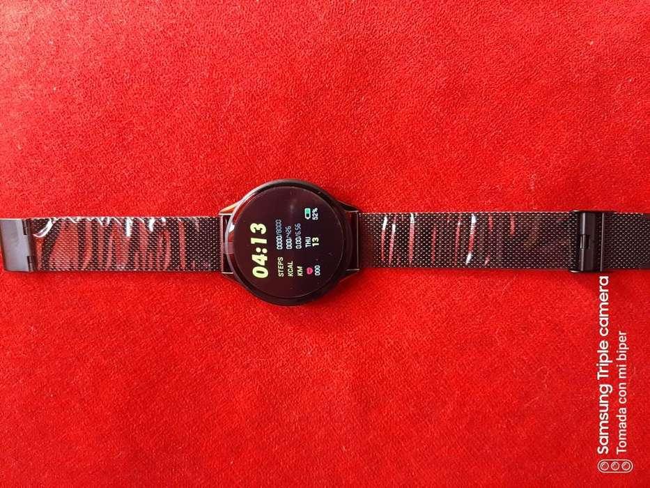 smartwatch sn58 acero ip58 reloj inteligente notificaciones
