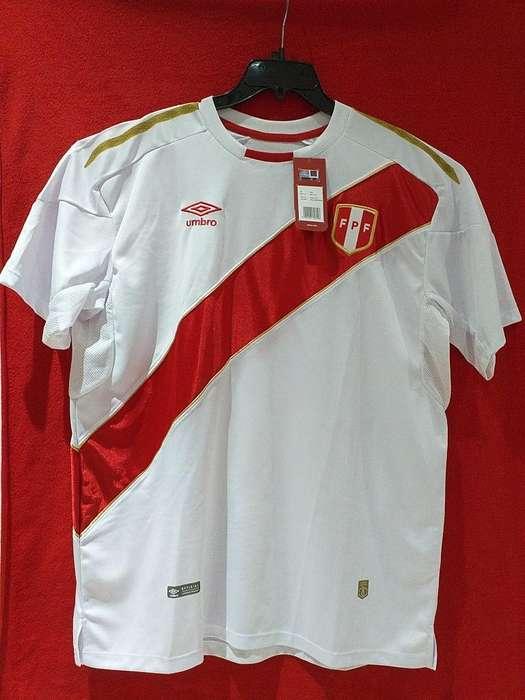 Camiseta Peru Oficial Xxl